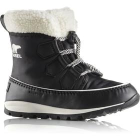 Sorel Youth Whitney Carnival Boots Black/Sea Salt